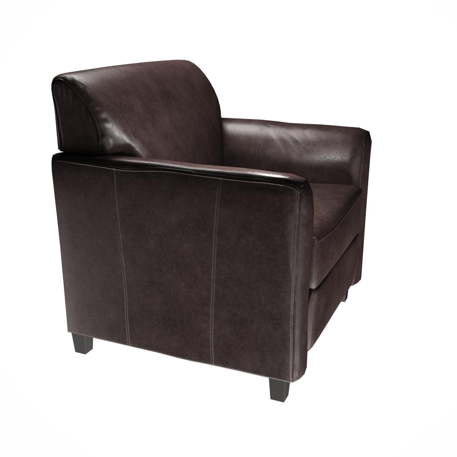 Flash Furniture HERCULES Diplomat Series Brown Leather Chair by Flash Furniture