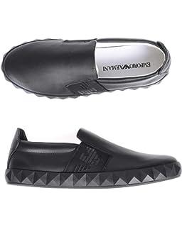 c632a04f9f6aff Emporio Armani DI Giorgio Armani Sneakers Men Gray 43M  Amazon.co.uk ...