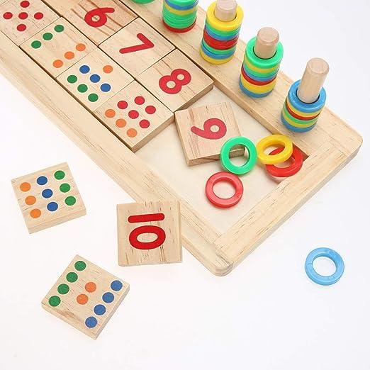 Les enfants apprennent le nombre de bâtons darithmétique Figure Les calculs  de mathématiques arithmétiques Jouets en ... 87f274bb96c