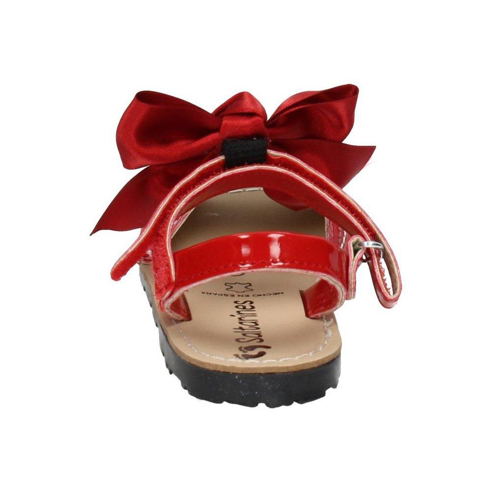 Para Saltarines Niña Rojas 7501 Sandalias Menorquinas Zapatos roWxeCdB