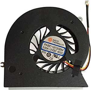 New Laptop CPU Cooling Fan Cooler for MSI GT72 GT72S GT72VR GT62VR MS-17 MS-1781 MS-1782 MS-17 Series, 3-pin