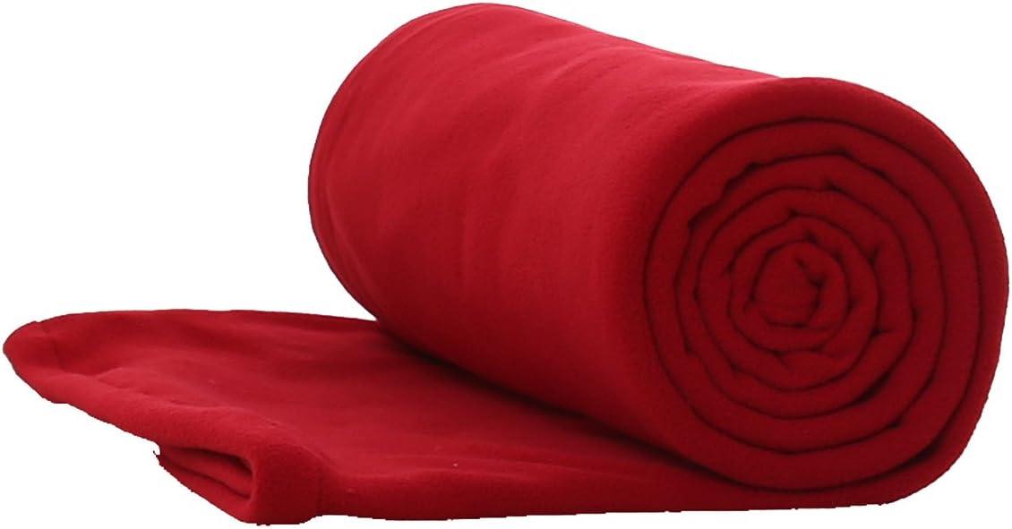 E-Onfoot Fleece Sleeping Bag Liner, Camping Sleep Sack Travel Sheet with Zipper