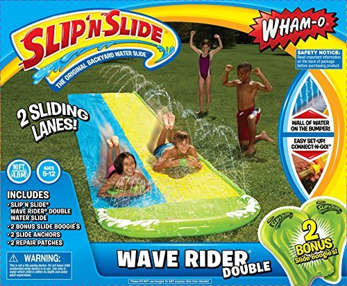 wham-o-slip-n-slide-wave-rider-double-with-2-slide-boogies