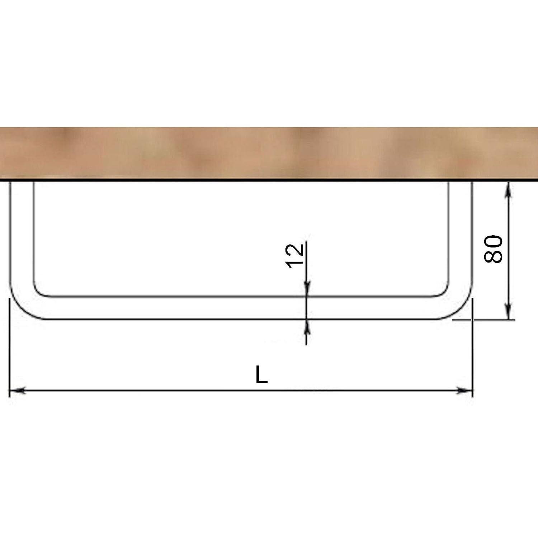Garderobenstange Norma Ii 730 Mm 12 Chrom Poliert U Form Humbucker Wiring Diagram Obl Garderobe Von So Tech Kche Haushalt