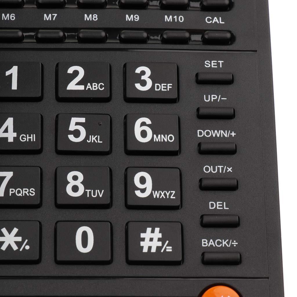 P Prettyia 2pcs Quadband GSM Tischtelefon Business Phone f/ür B/üro Familie und Senioren