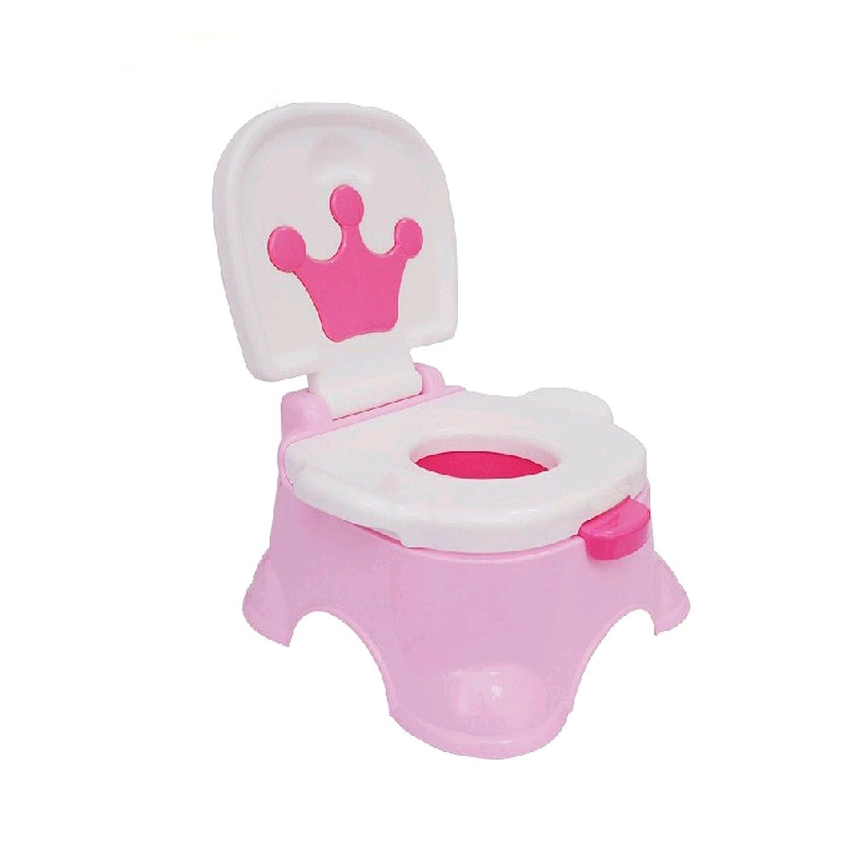 jueyan 2 en 1 orinal Color Rosa Fisher Price inodoro orinal para niños con música y soporte Banco: Amazon.es: Bebé