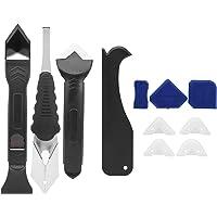 11-delige kitgereedschapset, plastic en siliconenverwijderings- en kitgereedschap, kitafwerkingsgereedschap Caulk…