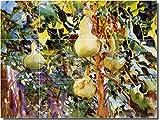 """Ceramic Tile Mural-John Sargent Garden Custom Tile Mural 18. 48"""" w x 36"""" h using (12) 12 x 12 ceramic tiles"""