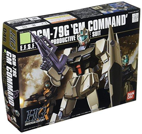 Bandai Hobby HGUC 1/144 #46 RGM-79G GM Command Gundam 0080 Model Kit