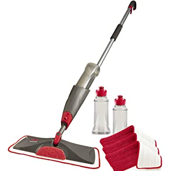 Amazon Com Rubbermaid Reveal Spray Mop Home Amp Kitchen