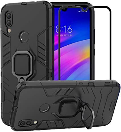Xiaomi Mi Note 2 Case silver Heavy Duty Dual Layer Hybrid Shock Absorbing Impact Drop Proof Case Cover with 360 Degree Rolling Kickstand Silicone Inner Layer for Xiaomi Mi Note 2