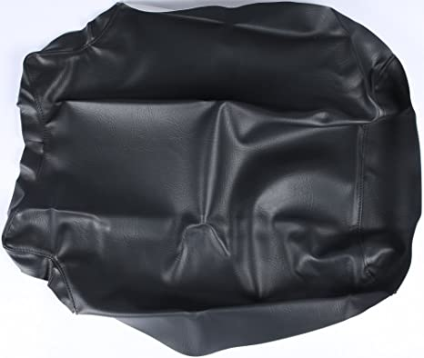 for 05-09 Kawasaki BRUTEF750 Quad Works Gripper Seat Cover Black
