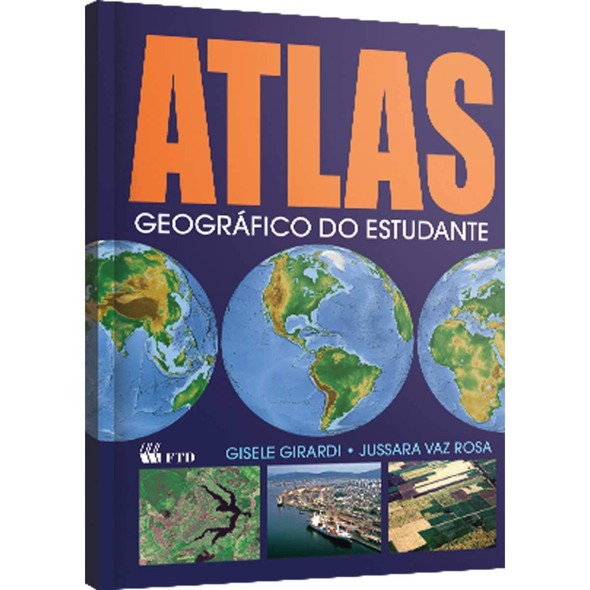 Atlas Geográfico do Estudante Em Portuguese do Brasil: Amazon.es: Gisele Girardi: Libros