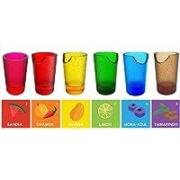 Vasos Tequileros Comestibles de Gomita Yummy shots 36 piezas