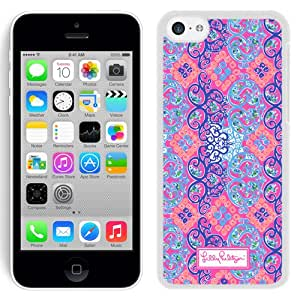 Unique iPhone 5C Lilly Pulitzer 35 White Screen Cover Case Fashion and Newest Style
