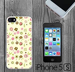 Cute Flower Pattern Custom made Case/Cover/skin FOR iPhone 5/5s by icecream design