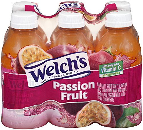Welch's Passion Fruit Juice, 10 oz - Pk of 24