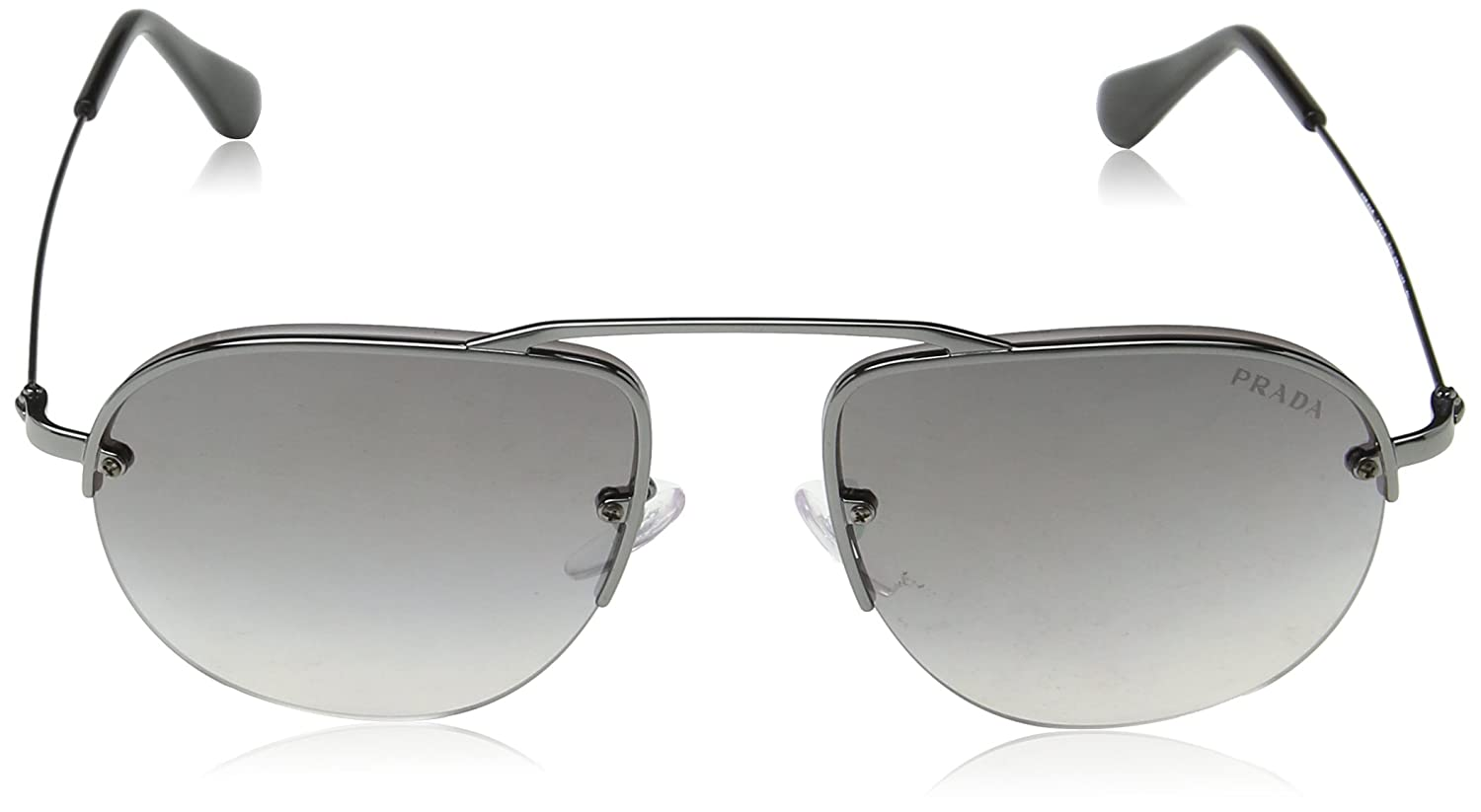 9c5bf5ecfae Amazon.com  Prada Women s Brow Bar Sunglasses