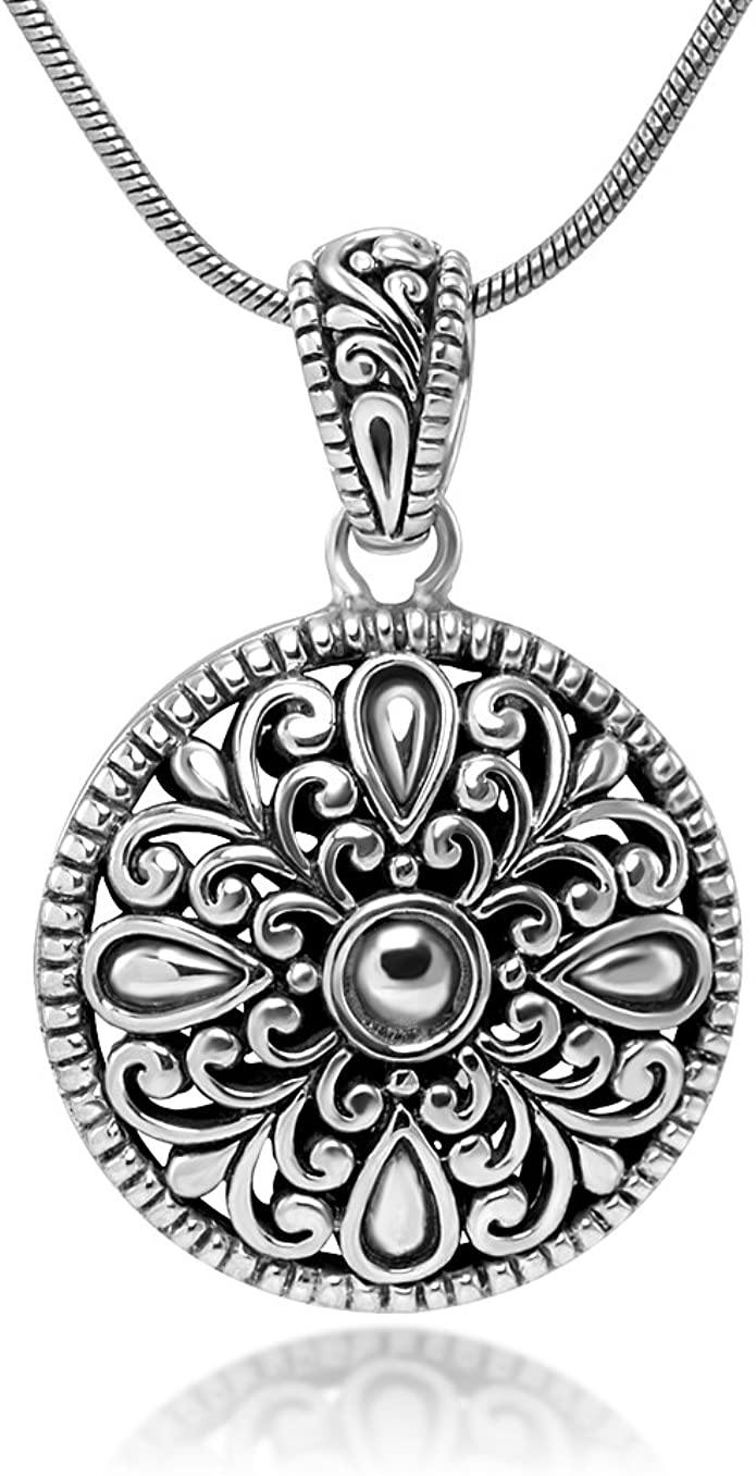 Special Aborigines Design 18K Gold Plated Oval Pendant Necklace Zirkonia Jewelry