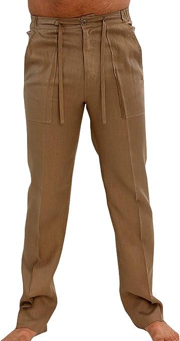 Unastar Men Work to Weekend Low Waist No Iron Lightweight Casual Trousers