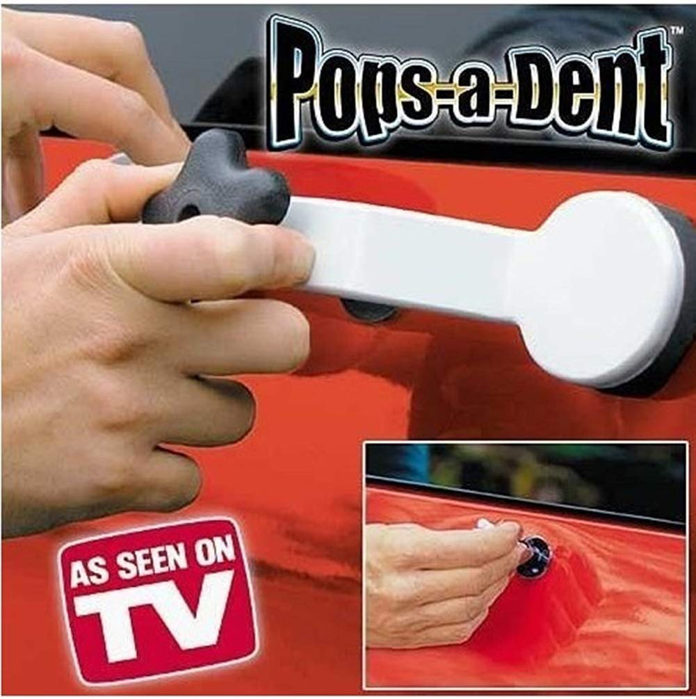 1 Set Pops a Dent Bridge Dent Puller Tool Kit Car Dent Paintless Repair Tools for Auto Truck Dent Removal Ouken