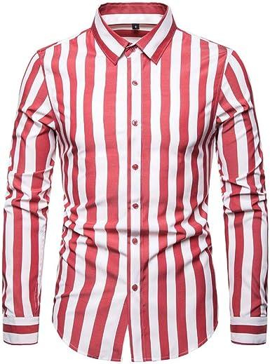 SXZG Camisa de Manga Larga para Hombre Nueva Camisa de Hombre ...