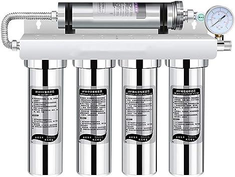ZLXLX Sistema de filtración de agua potable permeable al purificador de agua, dispensador de agua de filtración para grifo de agua doméstica de grado 5 y fregadero de ...