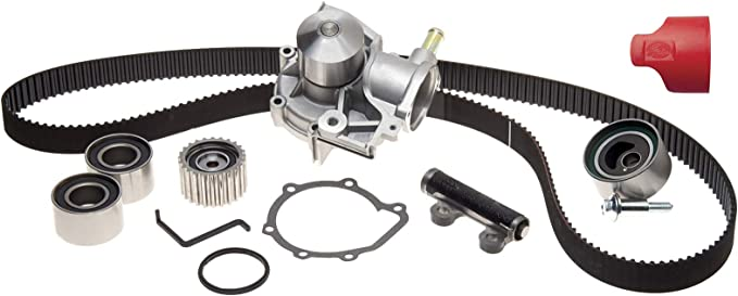 GATES TIMING BELT AND WATER PUMP KIT FOR CHEVROLET REZZO 2 122 BHP 2005