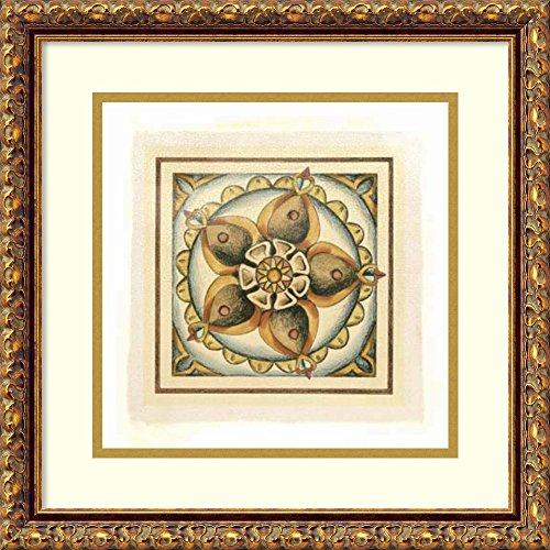 Crackled Cloisonne Tile - 2