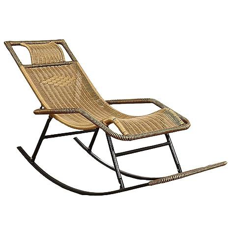 Amazon.com: Axdwfd Chaise Longue, silla de mecedora ...