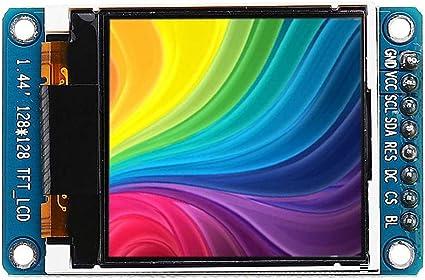 "1.44/"" 128x128 65K SPI Full Color TFT LCD Display Module ST7735 OLED for Ardui/_Y9"