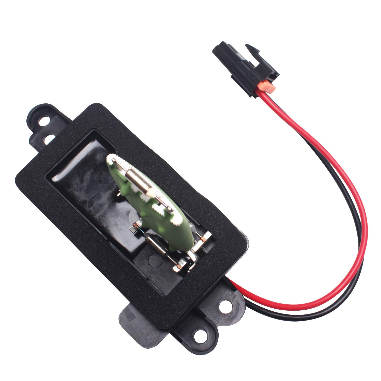 973-405 Beneges HVAC Blower Motor Resistor with Harness Compatible with 2003-2006 Cadillac Escalade Chevy Avalanche Silverado Suburban Tahoe GMC Sierra Yukon 89019088