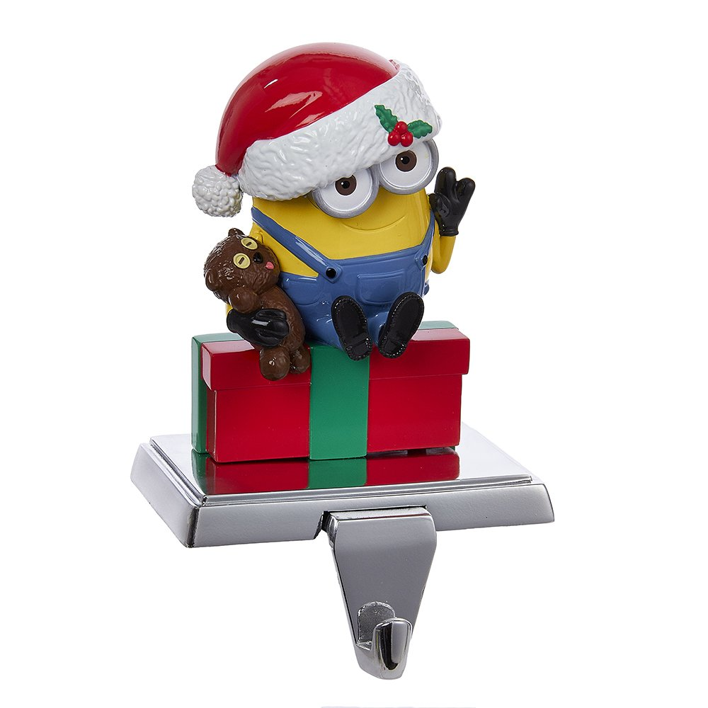 Kurt Adler Minion Bob with Bear Stocking Holder DE5161