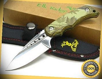 Amazon.com: Camo 535BC - Cuchillo de pescar para caza, recto ...