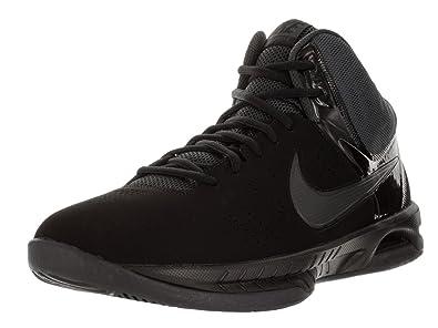 Nike Mens Air Visi Pro Vi Nbk BlackAnthracite AnkleHigh Nubuck Basketball  Shoe