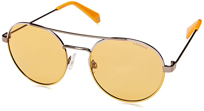 Polaroid Unisex Adults/' PLD 6056//S Sunglasses 55 Multicolour Blk Ruth