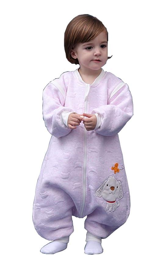 BabyFat Sacos de Dormir/Pijama para Bebé Niño Unisex Otoño/Invierno 2.5 Tog Rosa