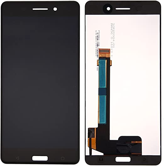 AN-JING Piezas De Repuesto IPartsBuy for Nokia 6 Pantalla LCD + ...