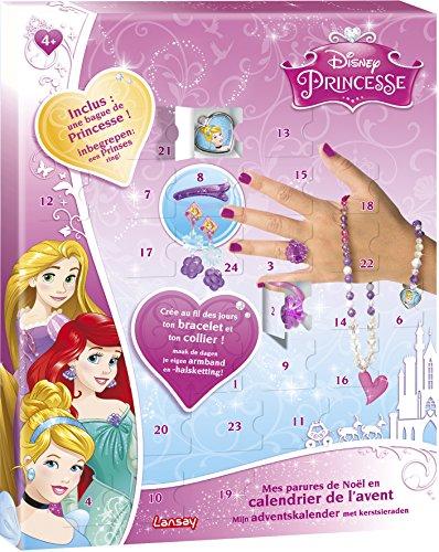 Calendrier De Lavent Fille 10 Ans.Lansay 25111 Calendrier De L Avent Mes Parures De Noel Princesses