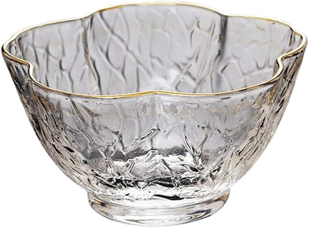 YARNOW Tazas de Sake Fr/ío Japon/és Tazas de T/é Tazas de Vidrio Vasos para Beber Sake de Flor de Ciruelo Servir Vidrio