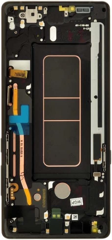 with Tool Kit Midnight Black OEM Digitizer /& Frame Assembly for Samsung Galaxy Note 8 LCD