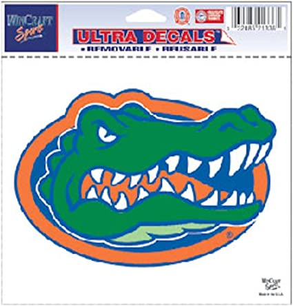 5 x 6 WinCraft NCAA University of Florida 21336011 Multi-Use Colored Decal