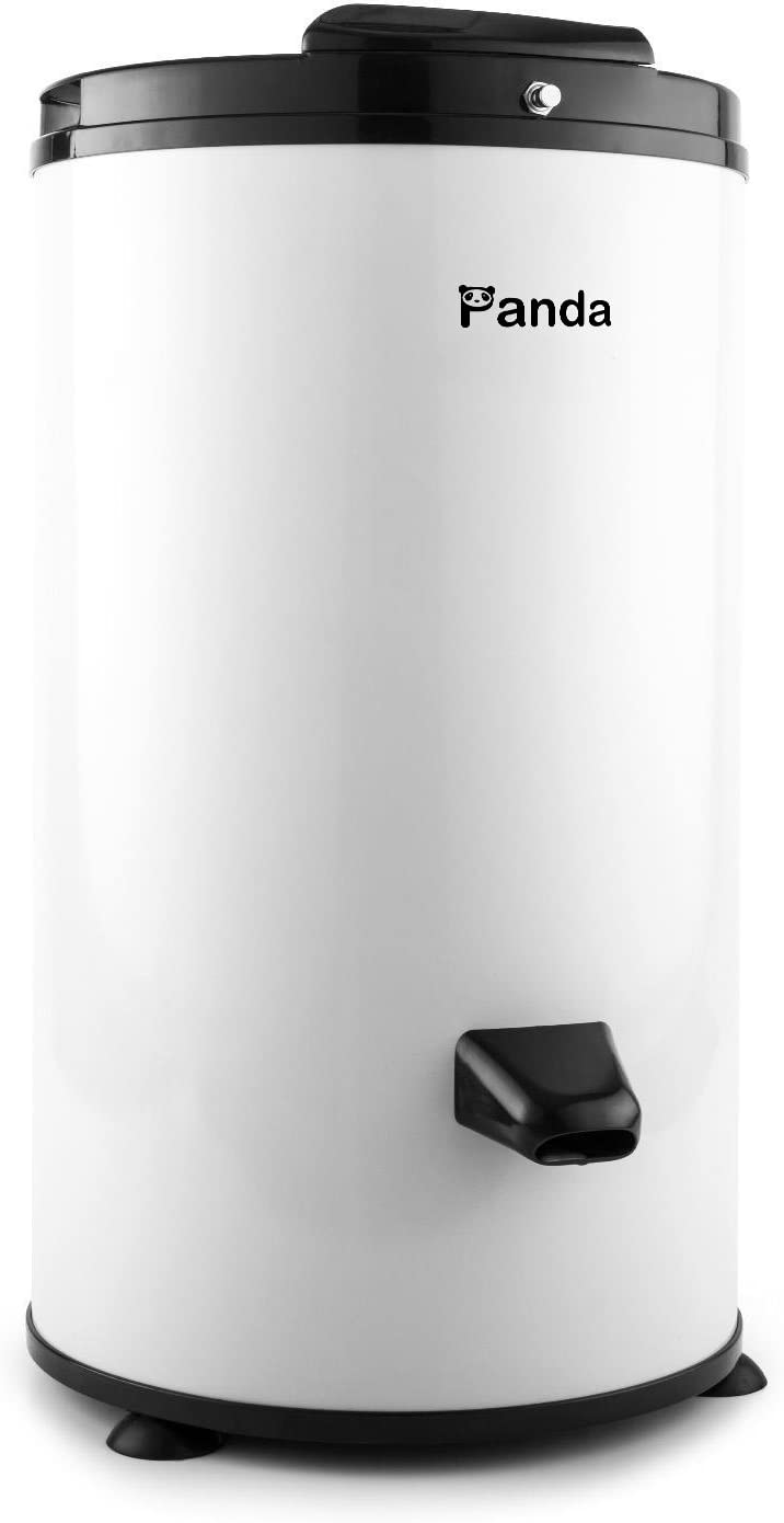 Panda PANSP21W 3200 RPM Portable Spin Dryer 110V/22lbs White Stainless Steel