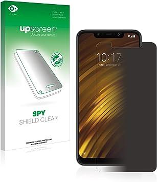 upscreen Protector Pantalla Privacidad Compatible con Xiaomi Pocophone F1 Anti-Espia Privacy: Amazon.es: Electrónica