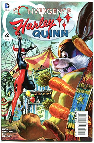 CONVERGENCE HARLEY QUINN #2, NM, 2015, Catwoman, Poison Ivy, more HQ in store (Wallies Ivy)