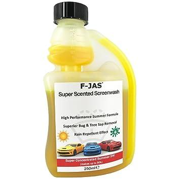 Solución de limpieza de lunas F-Jas, Readymix (con mucho aroma, 5 litros): Amazon.es: Coche y moto