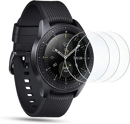 OMOTON Protector Pantalla para Samsung Galaxy Watch 42mm, Cristal ...