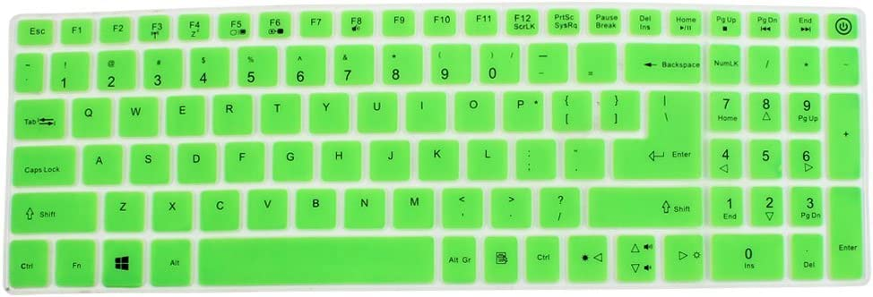 NA for acer E5-573 Laptop Laptop Keyboard Protector Skin Film Cover Green
