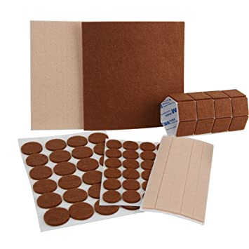 Tenn Gut 79pcs Möbel Pads, Selbstklebend Fasern Filzen Heavy Duty Filz Für  Schutz Ihrer Hartholz