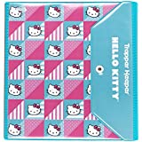 Hello Kitty Trapper Keeper 1.5 Inch Binder by Mead, 3 Ring Binder, Quilt Design (73455)